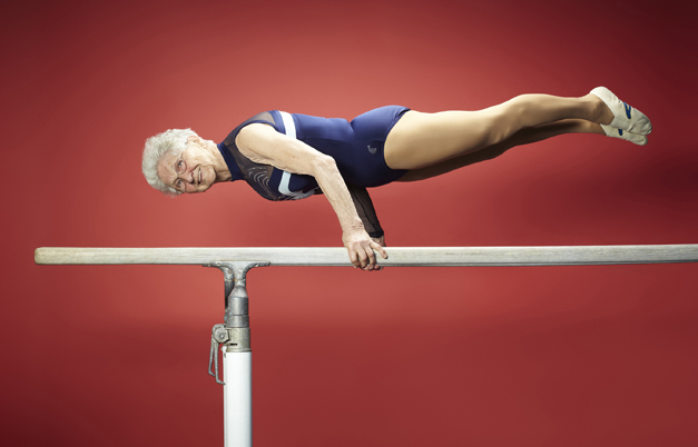 Cea mai batrana gimnasta