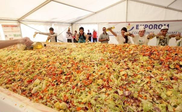 Cea mai mare salata din lume