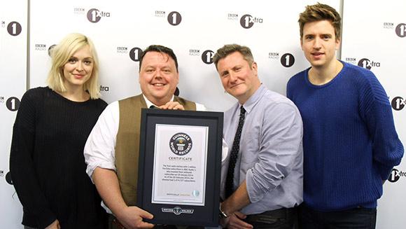 Radio in Cartea Recordurilor