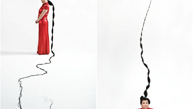 Femeia cu cel mai lung par din lume
