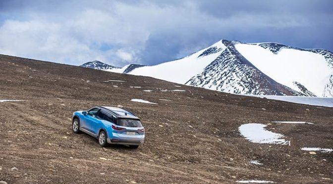Cea mai mare altitudine parcursa cu o masina electrica