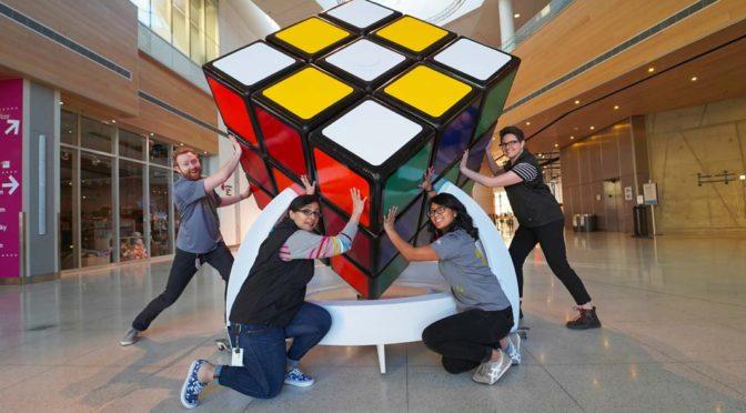 Cel mai mare cub Rubik