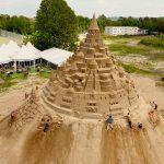 Cel mai mare castel de nisip