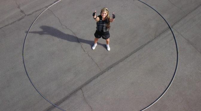 Cel mai mare cerc Hula Hoop din lume