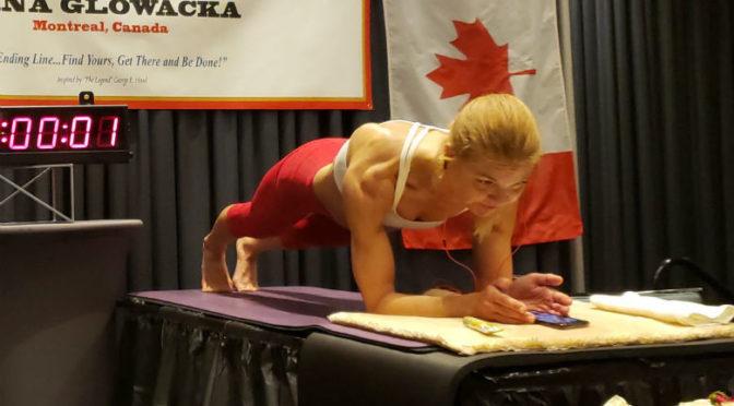 Record pozitia Plank obtinut de o femeie
